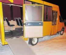 В Донецкой области появился автобус для особенных людей