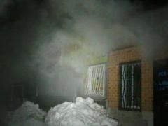 Ночью в Донбассе сгорели павильоны с мясом (ФОТО)