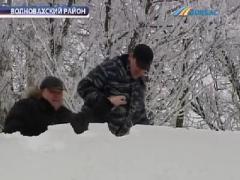 Снежный коллапс в Донбассе: спецтехника оказалась бессильна (ВИДЕО)