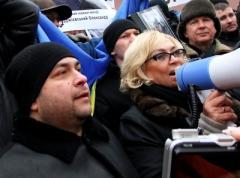 У прокуратуры донецкие противники Майдана устроили Кужель горячий приём (ФОТО + ВИДЕО)