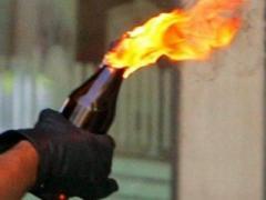 В Киеве подожгли отделение милиции