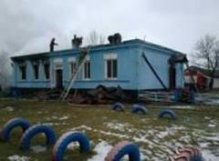 На Сумщине из горящего детского сада эвакуировали почти 150 детей