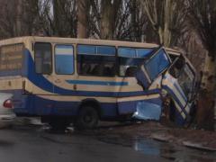 Под Донецком разбился пассажирский автобус (ФОТО)