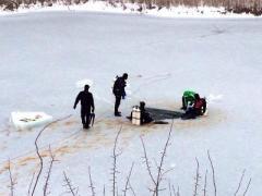 В Донецкую область приехали дайверы, чтобы погрузиться в аномальное озеро (ФОТО)
