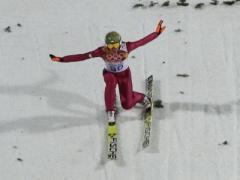 Польский лыжник снова допрыгался, но сегодня остался в сознании (ФОТО + ВИДЕО)