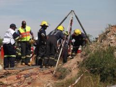 Чудесное спасение: из заблокированной шахты вызволили восемь горняков (ВИДЕО)