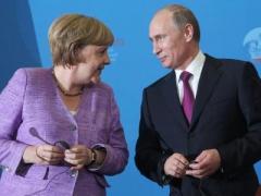 Меркель и Путин сошлись во мнении относительно столкновений в Украине