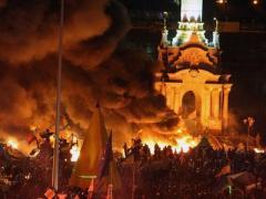 Как Украина оказалась в огне и трауре: от Киева до областных центров (ФОТО)