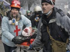 Итог трёхдневных столкновений в Киеве: погибшие и раненые (ФОТО + ВИДЕО)
