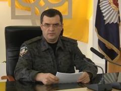 Официально: столичная милиция вооружилась боевым огнестрельным оружием (ВИДЕО)