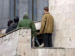В Донбасс докатилась паника: ажиотаж, блокпосты и конфликты (ФОТО)