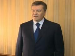 """Заявление Януковича: """"В стране - переворот. Моей отставки не будет"""" (ВИДЕО)"""