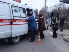 """Внедорожник протаранил """"семёрку"""": есть пострадавшие (ФОТО)"""