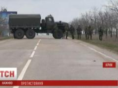 Телевизионных журналистов взяли в заложники в Крыму