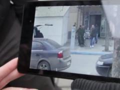 В Крыму от агрессивных молодчиков в страхе сбежали иностранные журналисты (ВИДЕО)