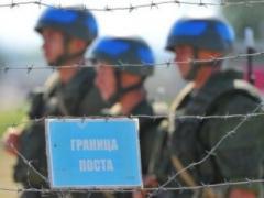 Украинские пограничники усилили контроль на границе и попали под пули (ВИДЕО)