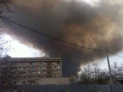 Огненный горизонт: под Херсоном бушует мощный пожар (ФОТО + ВИДЕО)