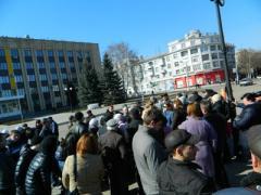 Как трезвые донбассовцы митинговали против новой власти (ФОТО)