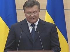 """Заявление Виктора Януковича: """"Я жив, а вы ответите"""" (ВИДЕО)"""