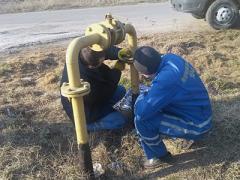 В Донбассе горел газопровод под высоким давлением (ФОТО)