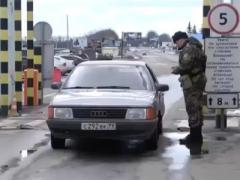 За кордон - только пешком: Россия закрывает границу с Украиной (ВИДЕО)