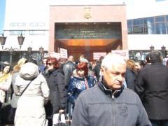 В Донецке обманутые вкладчики пикетировали НБУ (ВИДЕО)