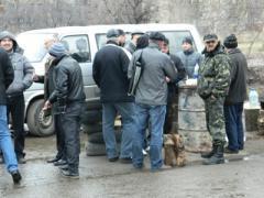 Воинские склады под Артёмовском всё ещё заблокированы