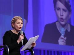 И тут появляюсь я - в белом: Тимошенко идёт в президенты