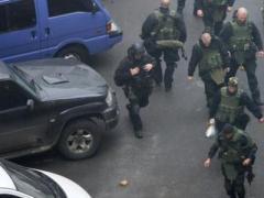 Милиционеры задержали подозреваемых в расстреле Евромайдана (ФОТО + ВИДЕО)