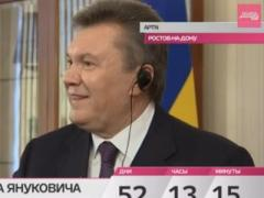 Виктор Янукович планирует переехать в Москву: полная версия интервью (ВИДЕО)