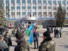 Пророссийские активисты захватили оружие в луганской СБУ