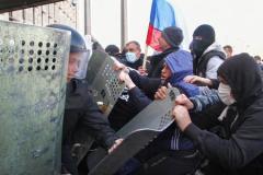 Силовики области установили лица участников массовых беспорядков
