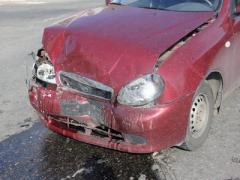 Донбасские лихачи не поделили проблемный перекрёсток (ФОТО)