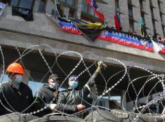 Захватчики Донецкой ОГА передумали сдаваться и готовятся отражать штурм