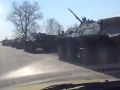 """Минобороны Украины опровергло российские СМИ: """"Танки идут не на Луганск"""" (ВИДЕО)"""