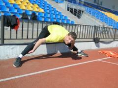 Потеряв базы в Крыму, украинские легкоатлеты приехали тренироваться в Донбасс