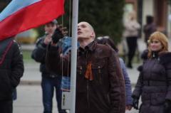 Захват горотдела в Артёмовске не состоялся: милиция договорилась с протестующими (ФОТО)