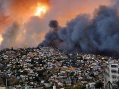 Мегапожар уничтожил полтысячи домов (ВИДЕО)