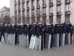 Милиция выставит на защиту митингующих столько силовиков, сколько защищали ОГА