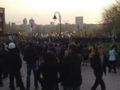 "Онлайн-трансляция донецкого митинга ""За единую Украину"" (ВИДЕО)"