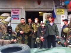 """Новая луганская """"власть"""" озвучила свою программу действий: """"Создаём армию"""" (ВИДЕО)"""