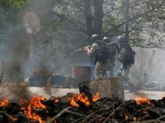Захватчики в Славянске используют мирных жителей в виде живых щитов