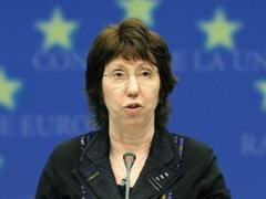 Кэтрин Эштон призвала всех остановить боевиков и насилие в Донбассе