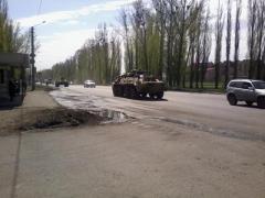 В сторону границы с Украиной выдвинулась военная техника РФ (ФОТО + ВИДЕО)