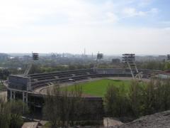 В Донецке пытаются захватить знаменитый стадион