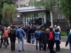 В Донецке за две минуты захватили здание СБУ (ВИДЕО)