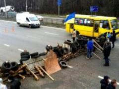 Все дороги в Киев перекрыты: на въезде в город - гигантские пробки (ВИДЕО)