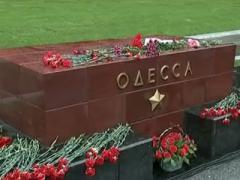 В Москве прошла акция в память о погибших в Одессе (ВИДЕО)