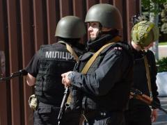 Представители ДНР захватили горуправление милиции Мариуполя (ВИДЕО)