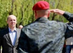 Сын министра обороны находится на передовой с первых дней АТО